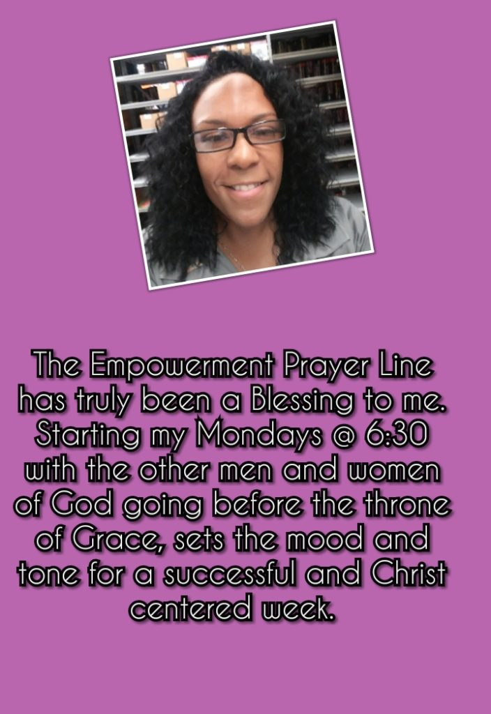 What Erika has to say about the community prayer line